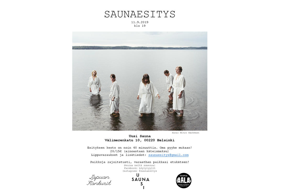 saunaesitys_juliste